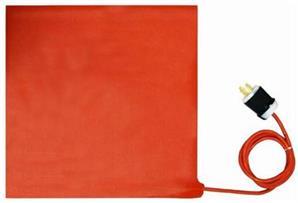 16英寸 x 16英寸 (406 x 406毫米) SR型复合材料固化加热毯