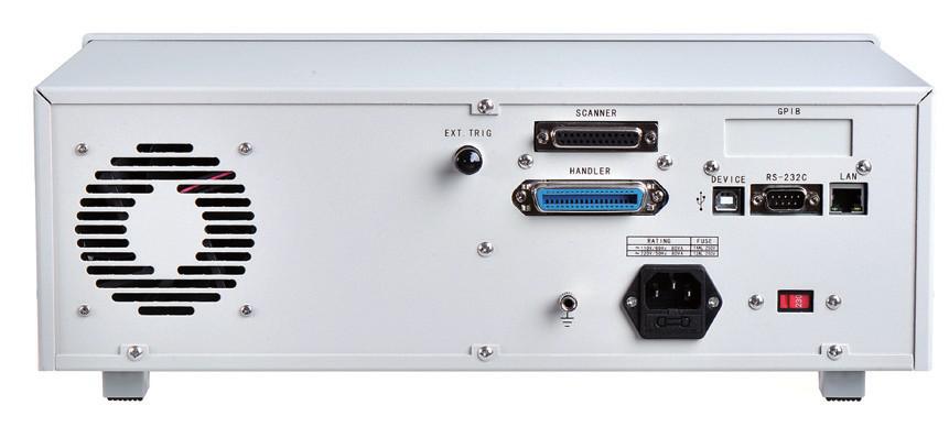 致新ZX2789-20P变压器综合测试仪丰富的接口