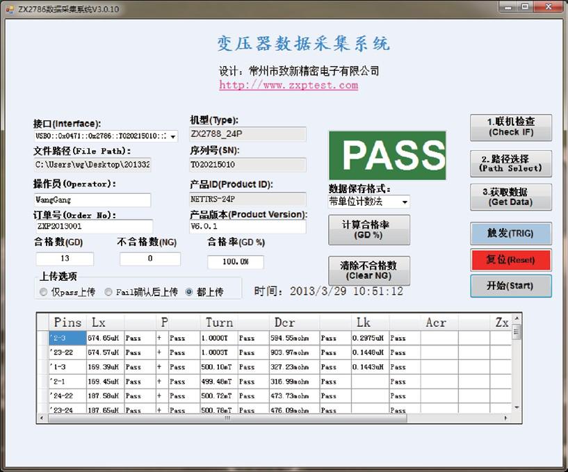 致新ZX2789-20P变压器综合测试仪