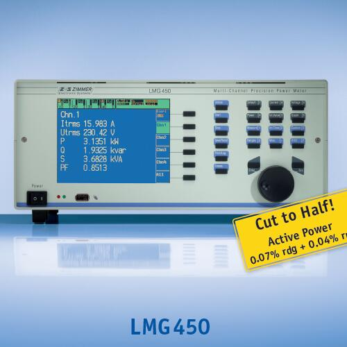 ZES LMG450四通道功率计